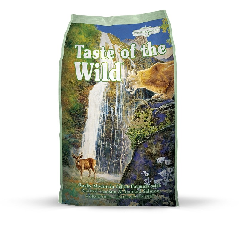 Taste of the Wild Rocky Mountain Roasted Venison (Grain Free) Dry Cat Food - Dry Food - EVERYDAY ...
