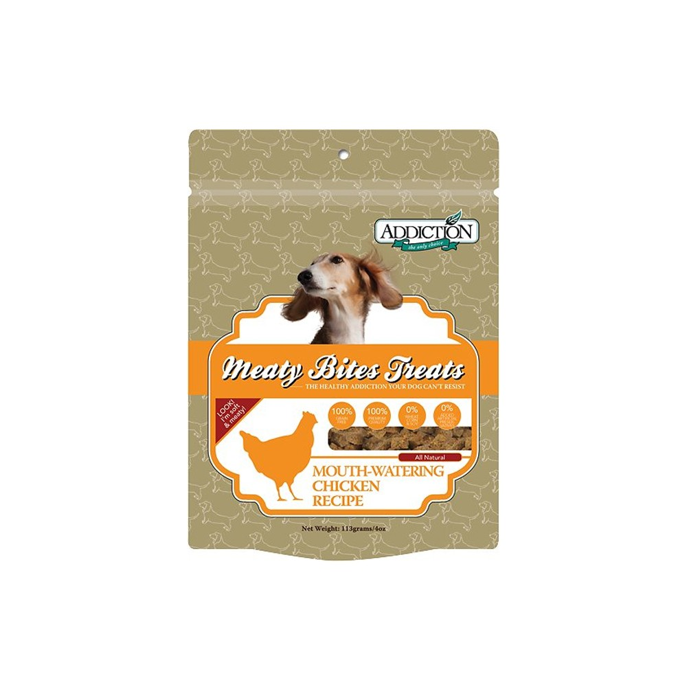 Addiction Chicken Meaty Bites for Dogs
