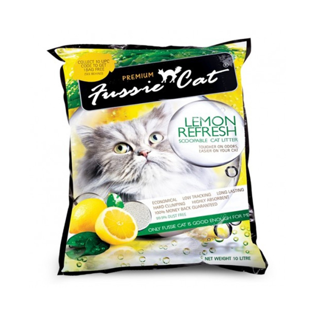 Fussie Cat Lemon Refresh Litter
