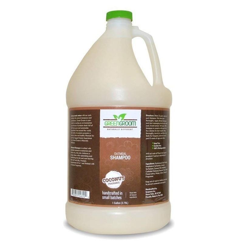 DONATE: Green Groom Oatmeal Shampoo - 1 Gallon