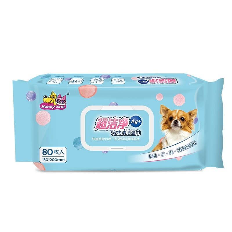 Honey Care Pet Wipes