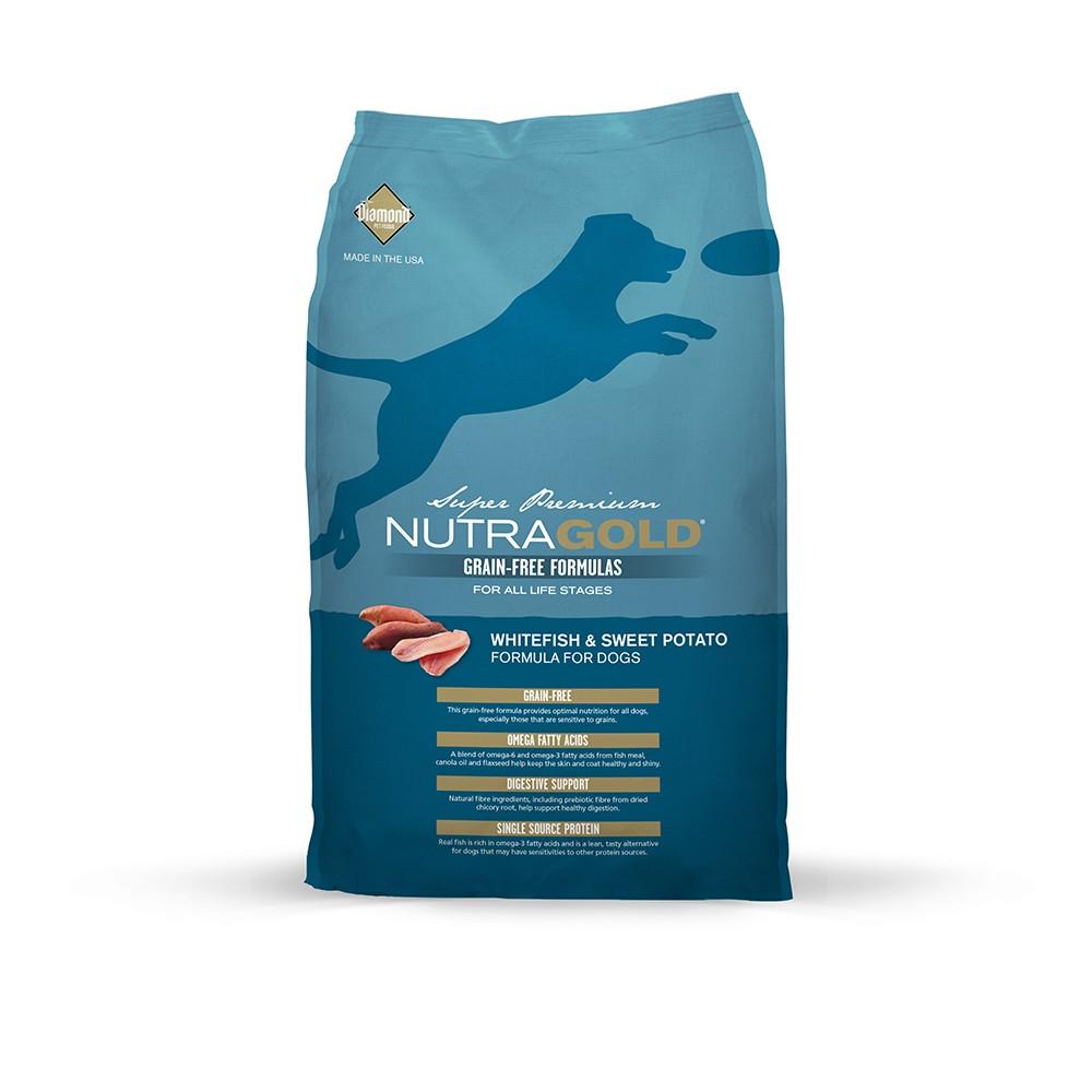NutraGold Grain Free WhiteFish & Sweet Potato Dry Dog Food