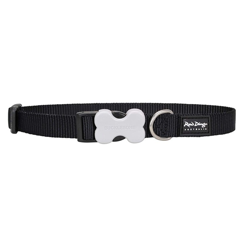 Red Dingo Classic Bucklebone Dog Collar - XS