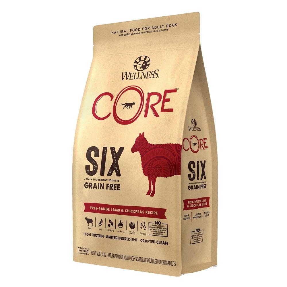 Wellness Core Six Cage-Free Duck & Chickpeas Grain Free Dry Dog Food
