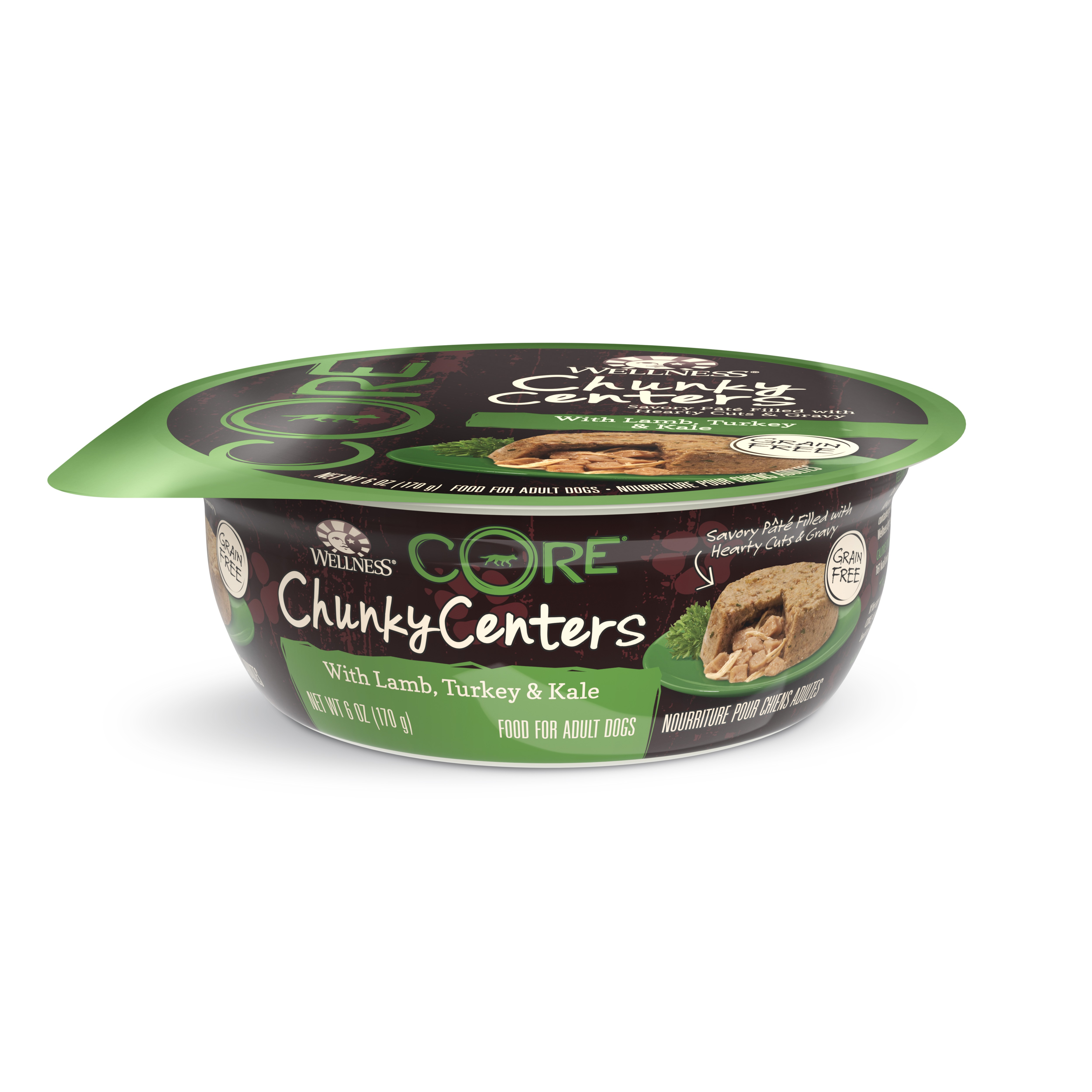Wellness CORE Chunky Centers - Lamb, Turkey and Kale for Dogs