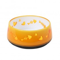 Catit Home Non-Skid Pet Bowl - Orange