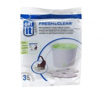 Catit Design Fresh & Clear Replacement Foam/Carbon Filter