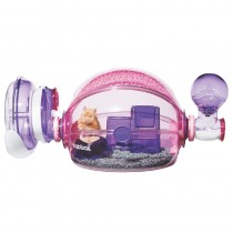 Habitrail Ovo Home Hamster Cage - Pink
