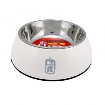 Dogit 2-in-1 Durable Bowl - White