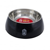 Dogit 2-in-1 Durable Bowl - Black