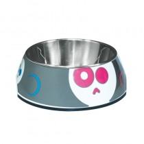 Dogit Style 2-in-1 Dog Bowl - Animated Skull