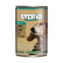 Addiction NZ Brushtail & Vegetables Entrée Canned Food for Dogs