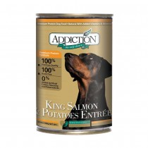 Addiction King Salmon & Potatoes Entrée Canned Food for Dogs