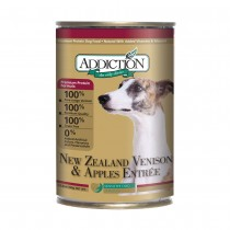 Addiction Venison & Apples Entrée Canned Food for Dogs