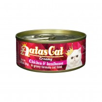 Aatas Cat Creamy Chicken & Kanikama in Gravy Canned Cat Food