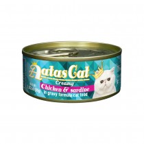 Aatas Cat Creamy Chicken & Sardine in Gravy Canned Cat Food