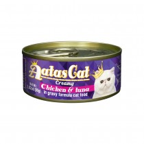 Aatas Cat Creamy Chicken & Tuna in Gravy Canned Cat Food