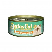 Aatas Cat Tantalizing Tuna & Ocean Fish in Aspic Canned Cat Food