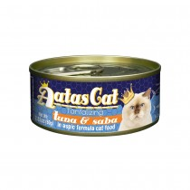 Aatas Cat Tantalizing Tuna & Saba in Aspic Canned Cat Food