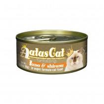 Aatas Cat Tantalizing Tuna & Shirasu in Aspic Canned Cat Food