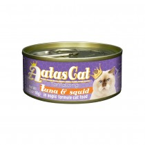 Aatas Cat Tantalizing Tuna & Squid in Aspic Canned Cat Food