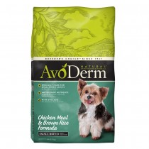 AvoDerm Natural Small Breed - Chicken Meal & Brown Rice Formula Dry Dog Food