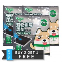 BUY 2 GET 1 FREE: Cocoyo Charcoal Pee Pads