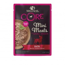 Wellness CORE Small Breed Mini Meals Chunky Beef & Chicken For Dogs