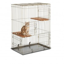 Marukan Cat Friend Room 3 Tier Cat Cage