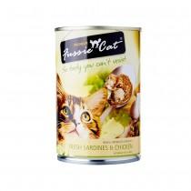 Fussie Cat Fresh Sardine & Chicken Feline Canned Food, Case of 24