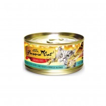 Fussie Cat Super Premium Chicken with Anchovies In Gravy Feline Canned Food