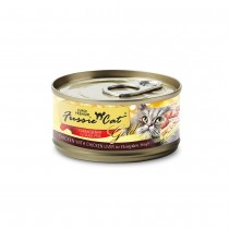 Fussie Cat Super Premium Chicken with Chicken Liver in Pumpkin Soup Feline Canned Food