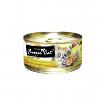 Fussie Cat Premium Tuna with Anchovies In Aspic Feline Canned Food