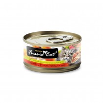 Fussie Cat Premium Tuna with Chicken Liver In Aspic Feline Canned Food