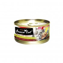 Fussie Cat Premium Tuna with Salmon In Aspic Feline Canned Food