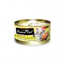 Fussie Cat Premium Tuna with Shrimp In Aspic Feline Canned Food