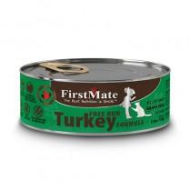 FirstMate Grain & Gluten Free Free Run Turkey Canned Cat Food