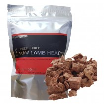 Freeze Dry Australia 100% Raw Lamb Hearts