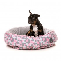 Fuzzyard Reversible Bed - Morganite (Medium)