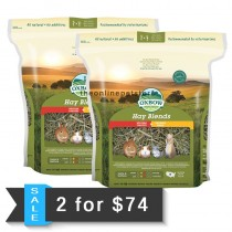 2 for $74: Oxbow Hay Blends Western Timothy & Orchard Grass 90oz