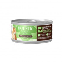 Holistic Select Grain Free Chicken Liver & Lamb Pate Canned Food for Cats
