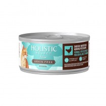 Holistic Select Grain Free Chicken, Whitefish & Herring Pate Canned Food for Cats