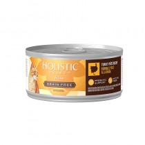 Holistic Select Grain Free Turkey Pate Canned Food for Cats