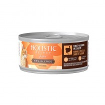 Holistic Select Grain Free Turkey & Salmon Pate Canned Food for Cat