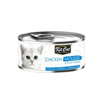 Kit Cat Chicken Mousse with Tuna Topper 80g