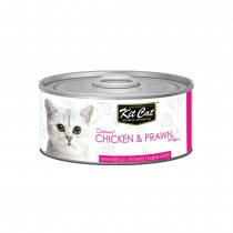 Kit Cat Deboned Chicken & Prawn Toppers 80g