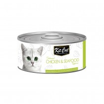 Kit Cat Deboned Chicken & Seafood Toppers 80g
