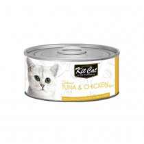 Kit Cat Deboned Tuna & Chicken Toppers 80g