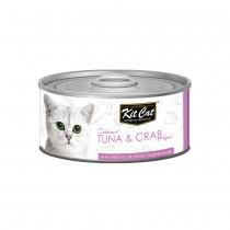 Kit Cat Deboned Tuna & Crab Toppers 80g