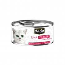 Kit Cat Tuna Mousse with Chicken Topper 80g